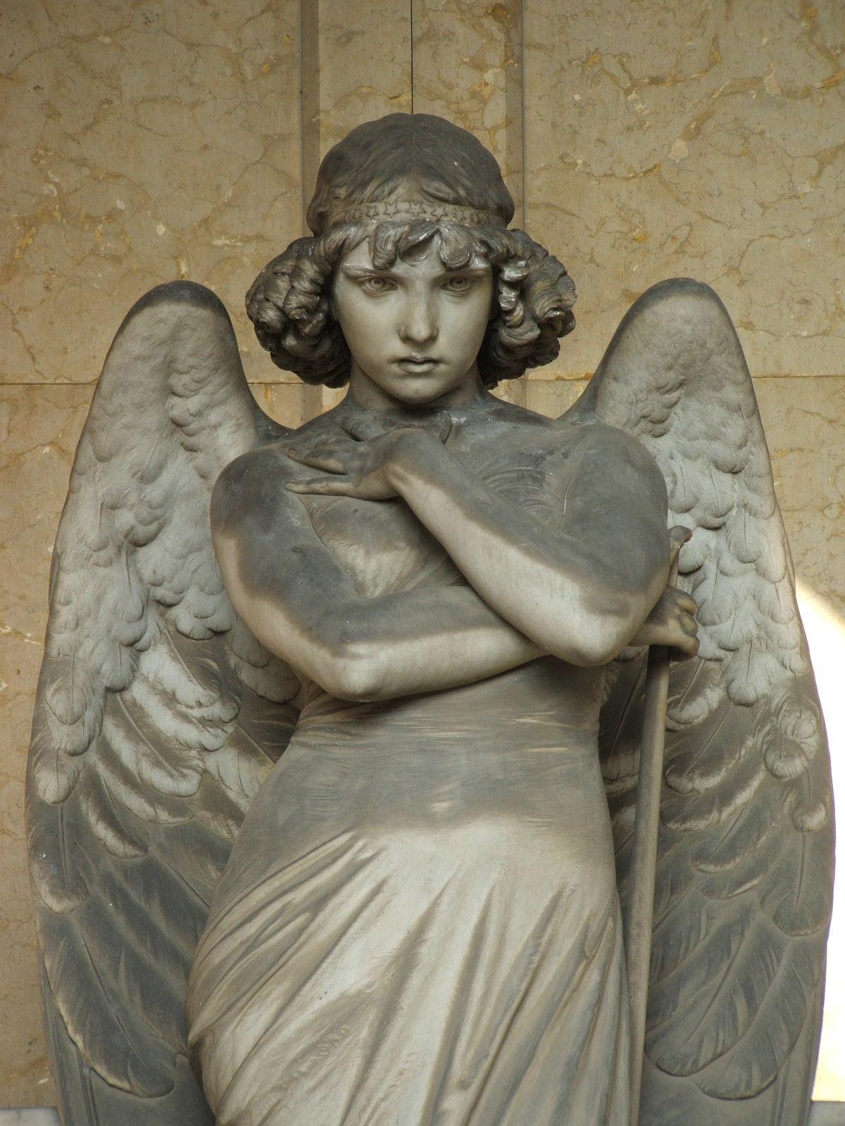 file genova cimitero di staglieno angelo di monteverde