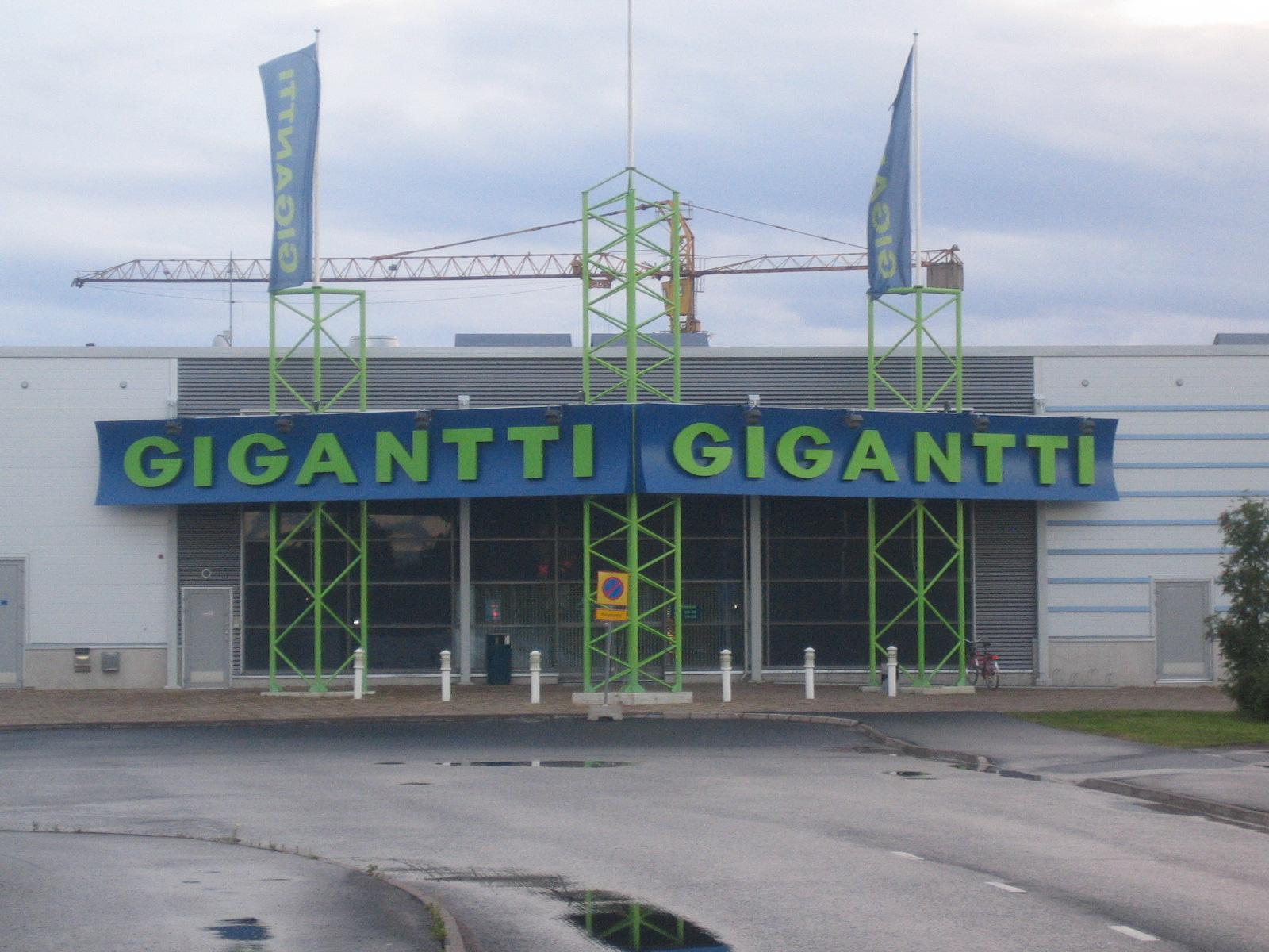 Gigantti oulu