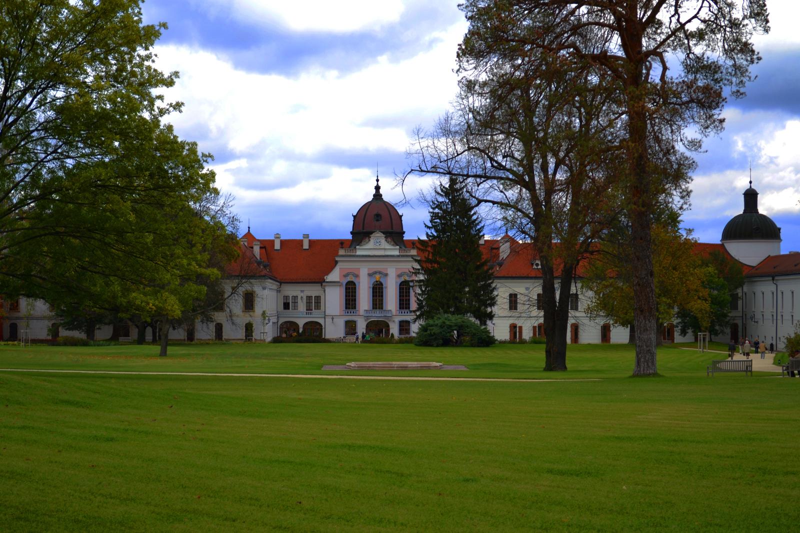 Schloss Gödöllő - als offizieller Schauplatz der EU-Ratspräsidentschaft (2011)