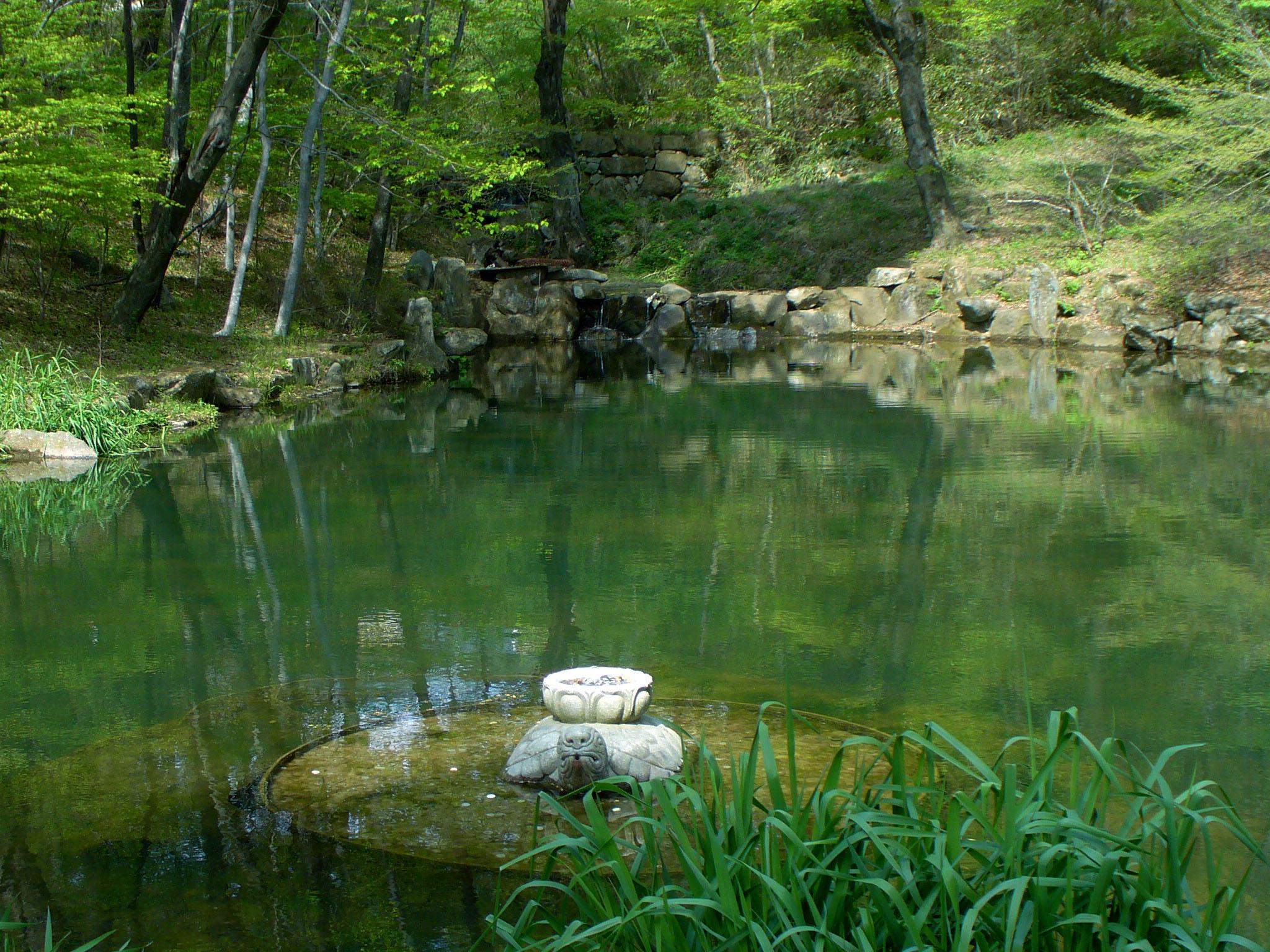 File Haeinsa Monastery Pond Of Wikimedia