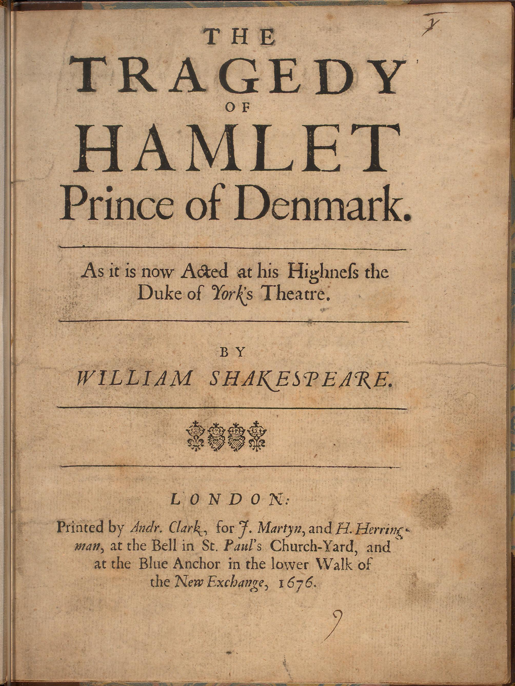 the catalyst for hamlet's tragedy is Features of shakespearean comedies and tragedies transcript of features of shakespearean comedies and comedy and tragedy in the first period he wrote his.
