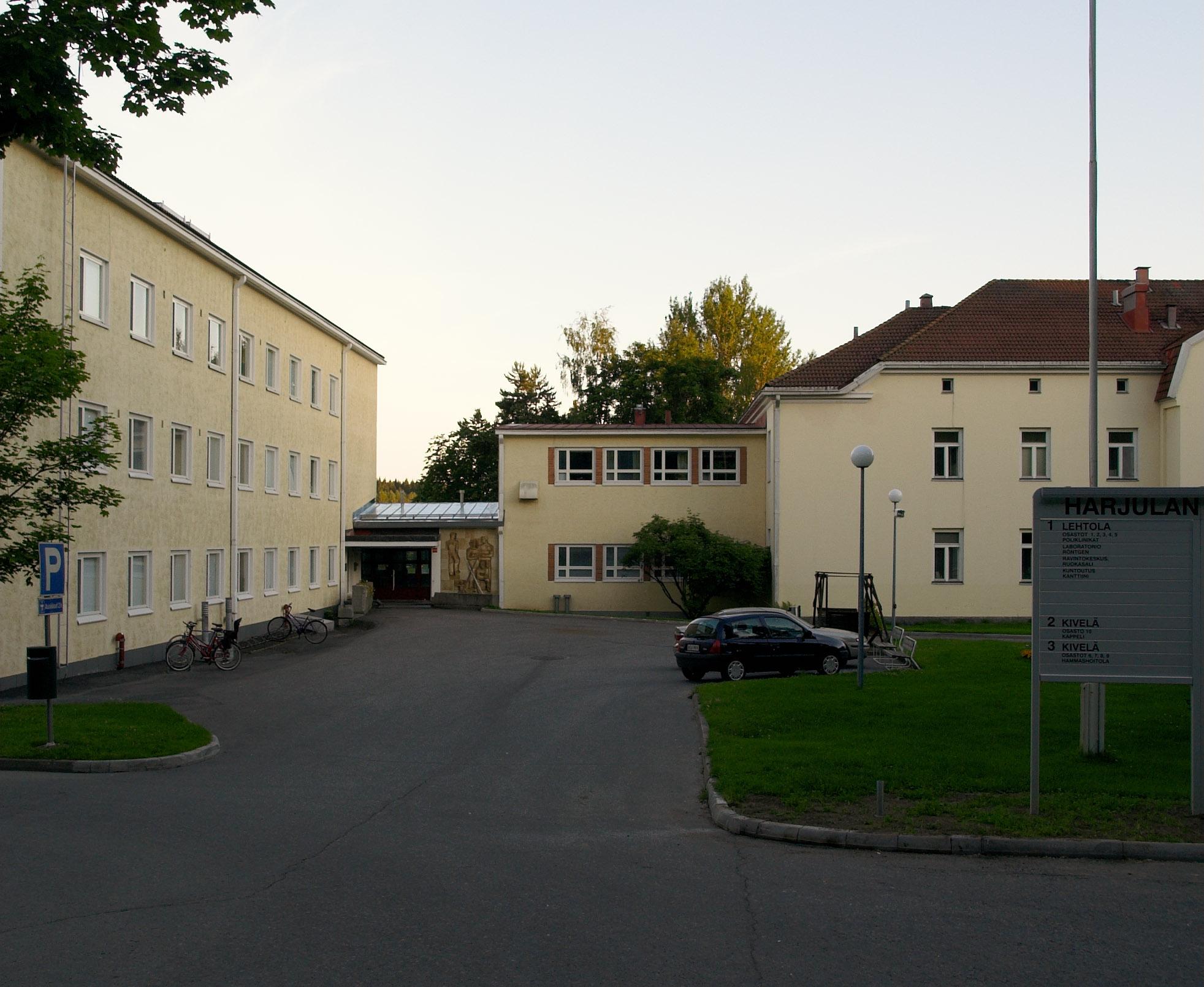 Harjulan Sairaala Kuopio