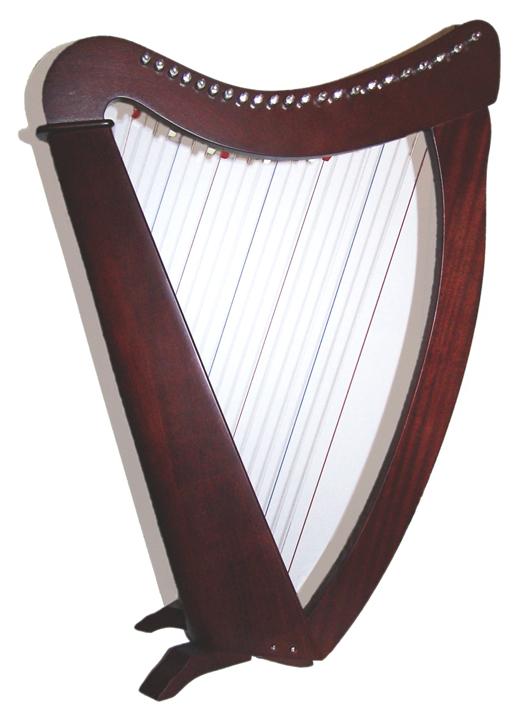 Bannière mariage (en cours) Harpe_troubadour