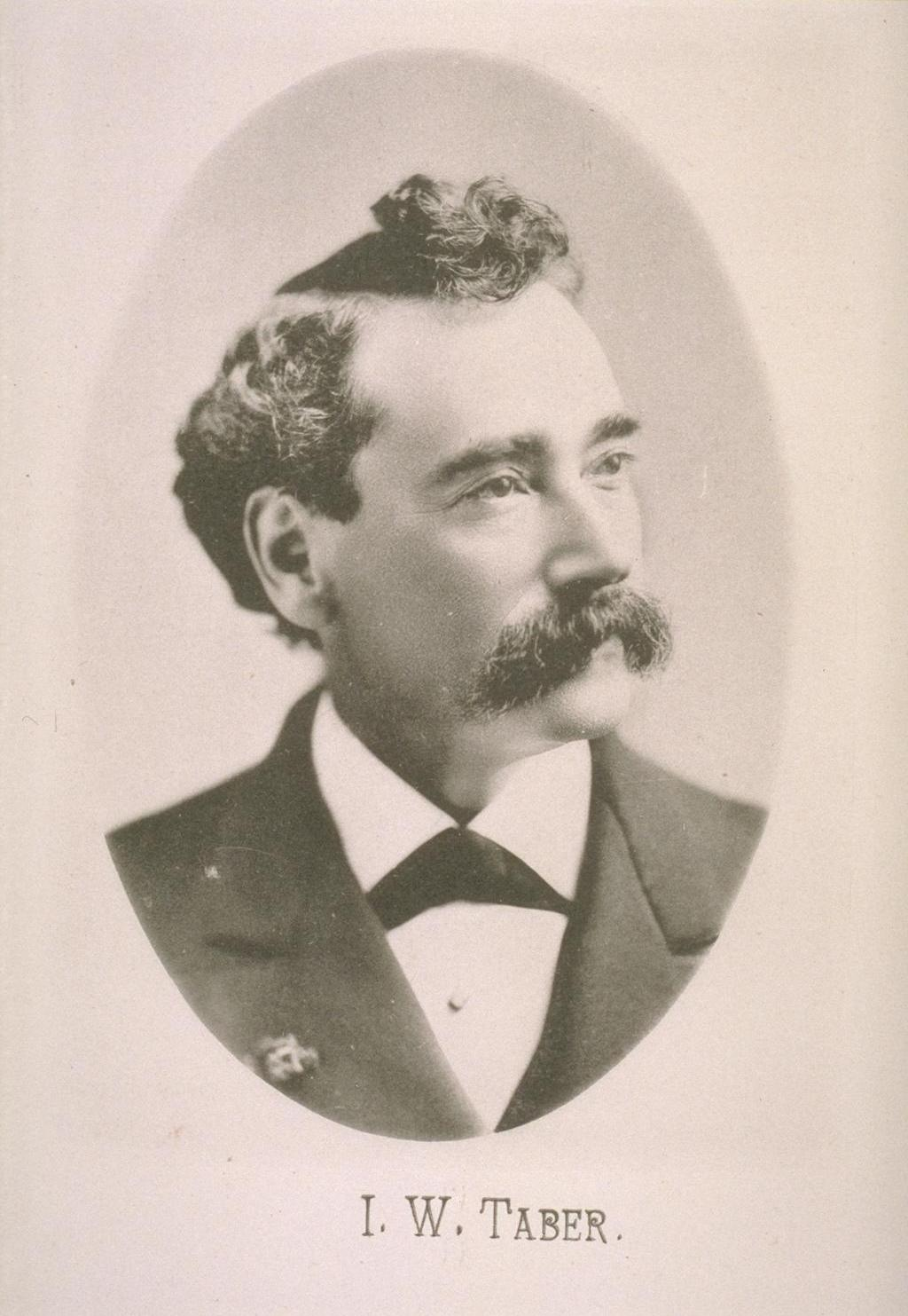 Image of Isaiah West Taber from Wikidata