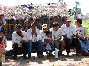 Indigenous people in Paraguay