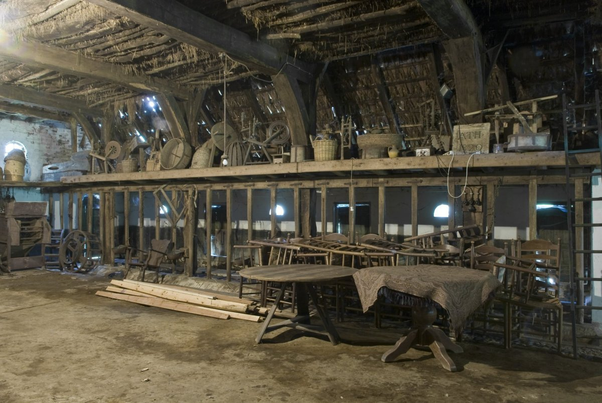 File interieur overzicht van zijwand in het los hoes - Makers van het interieur ...