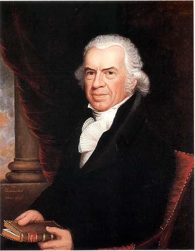 Oil on canvas by [[Ethan Allen Greenwood]] in 1818 (American Antiquarian Society)