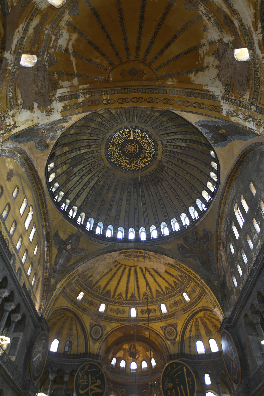 Hagia sophia wikipedia the vaulting of the nave annotations aloadofball Images