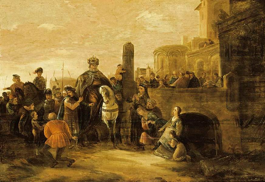 File:Jacob de Wet (I) - The Triumph of Mordechai - WGA25567.jpg
