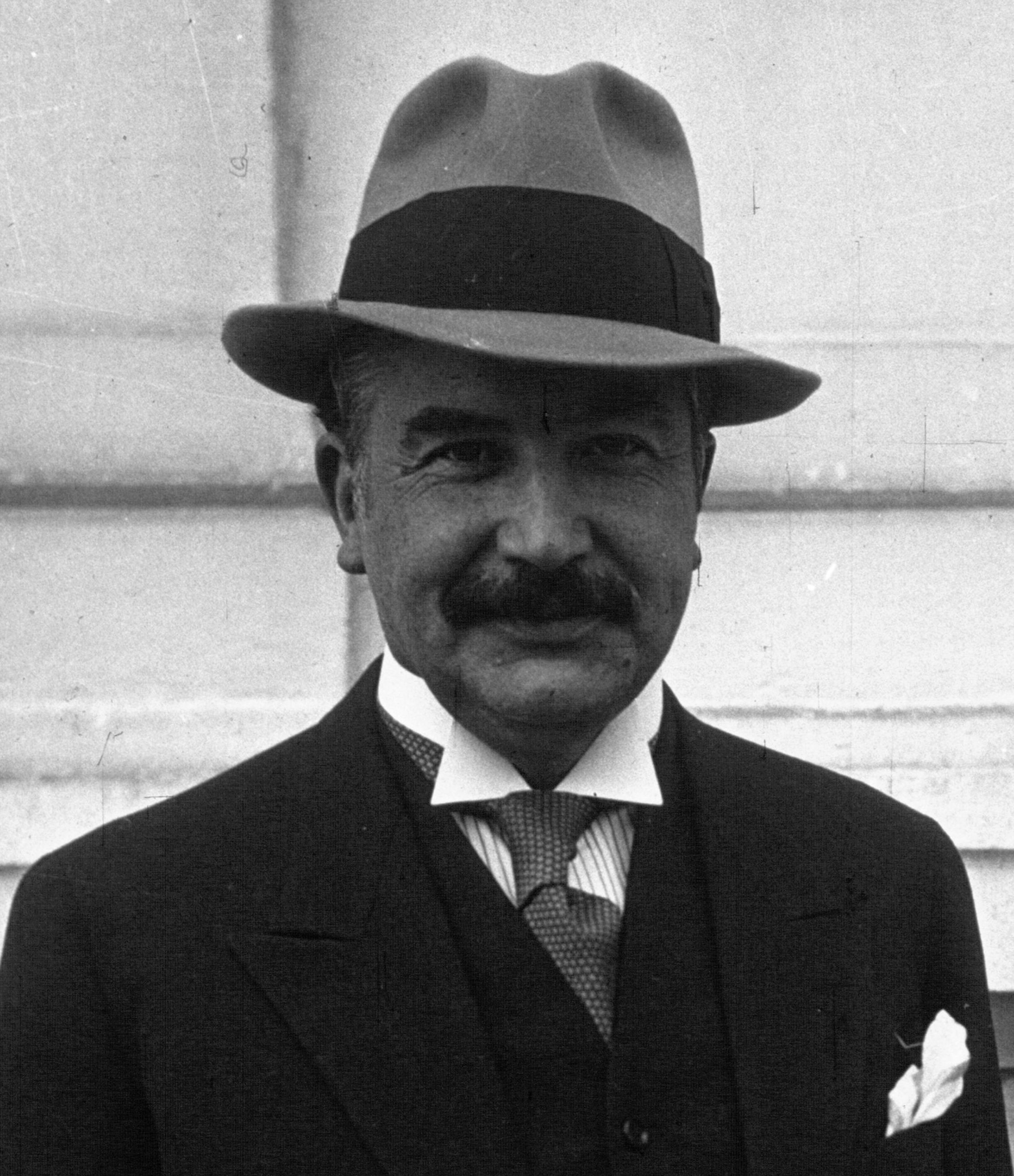 Joseph Bech Prime Minister of Luxembourg