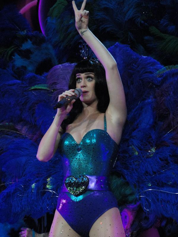 Katy Perry Tour Illustrated Eye