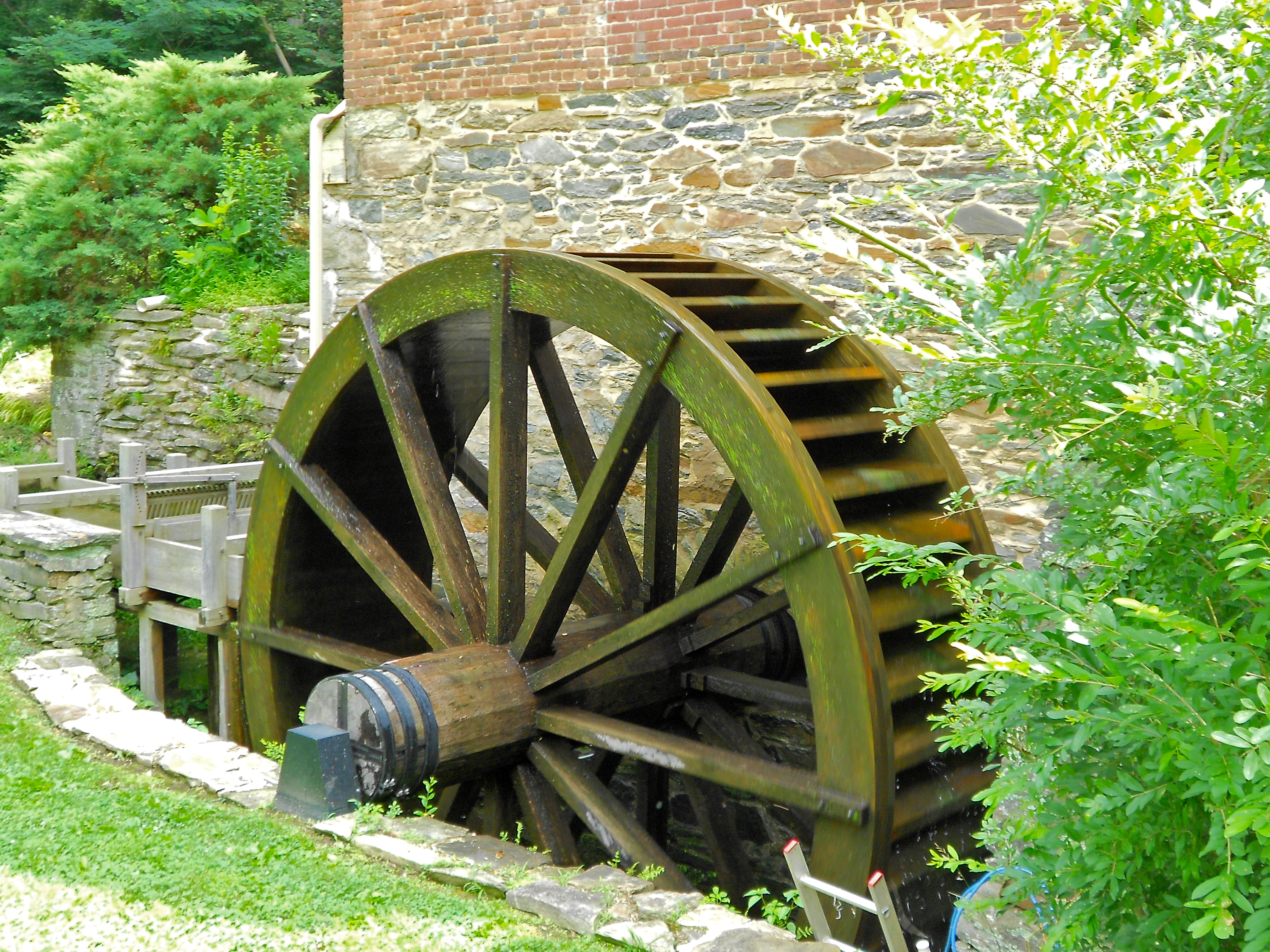Water Wheel Mill Pictures File:kirk Mills Water Wheel
