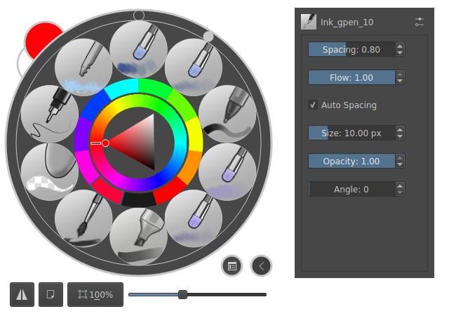Ficheiro:Krita 4 0 right-click hud popup-palette png