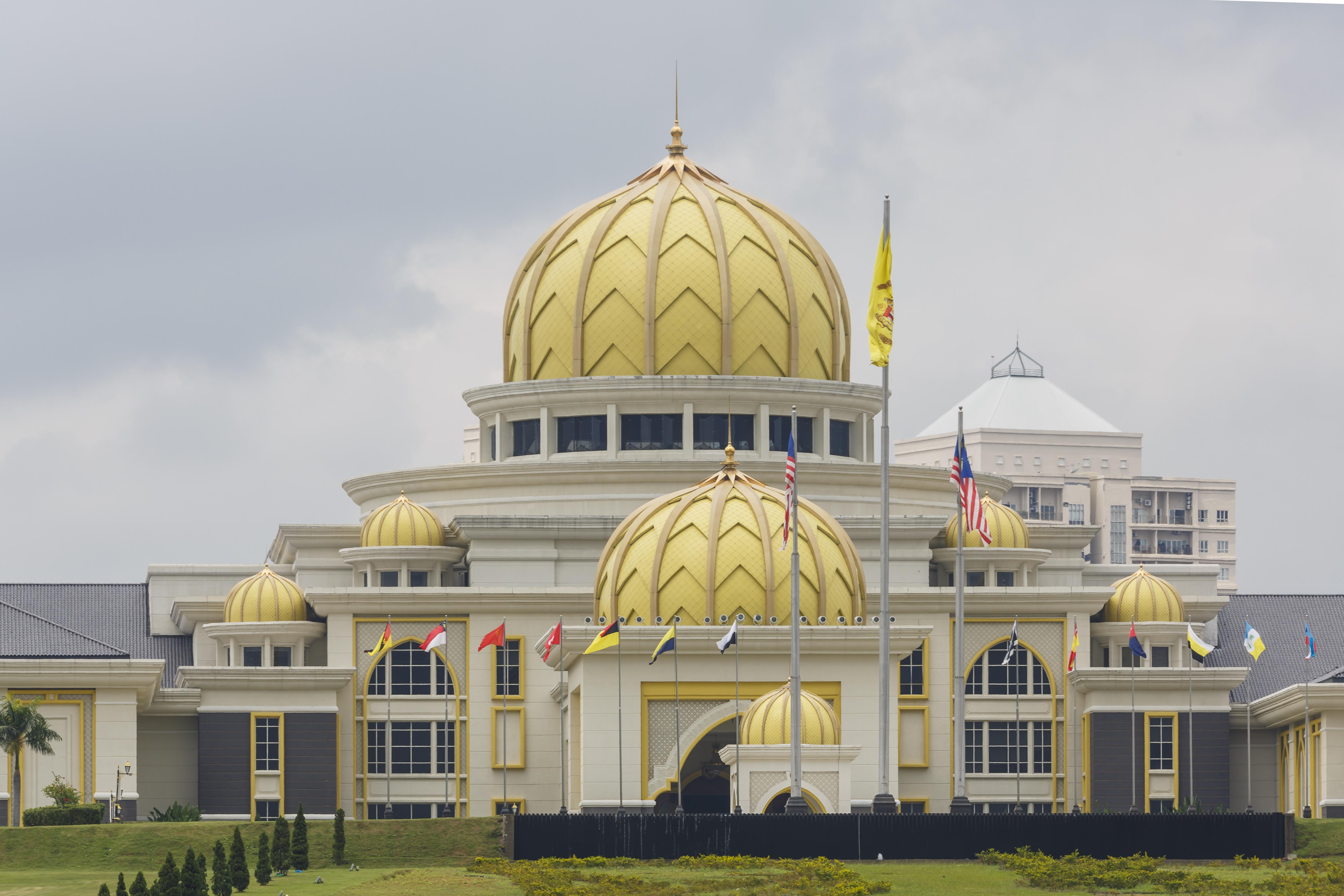 Istana Negara of Malaysia at Jalan Duta, the Official Residence of the Yang DiPertuan Agong of Malaysia.