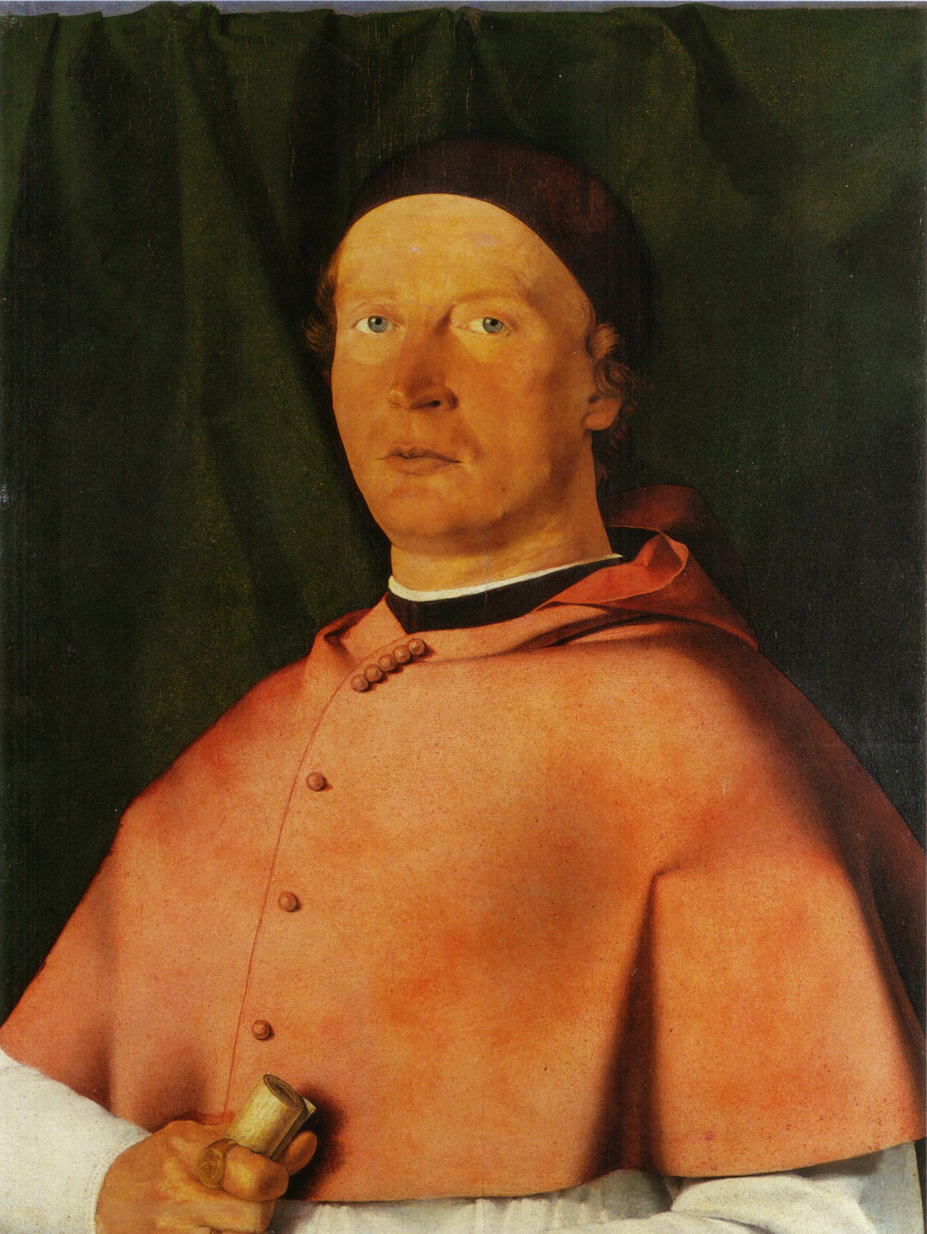 Image result for Lotto Bishop Bernardo de' Rossi