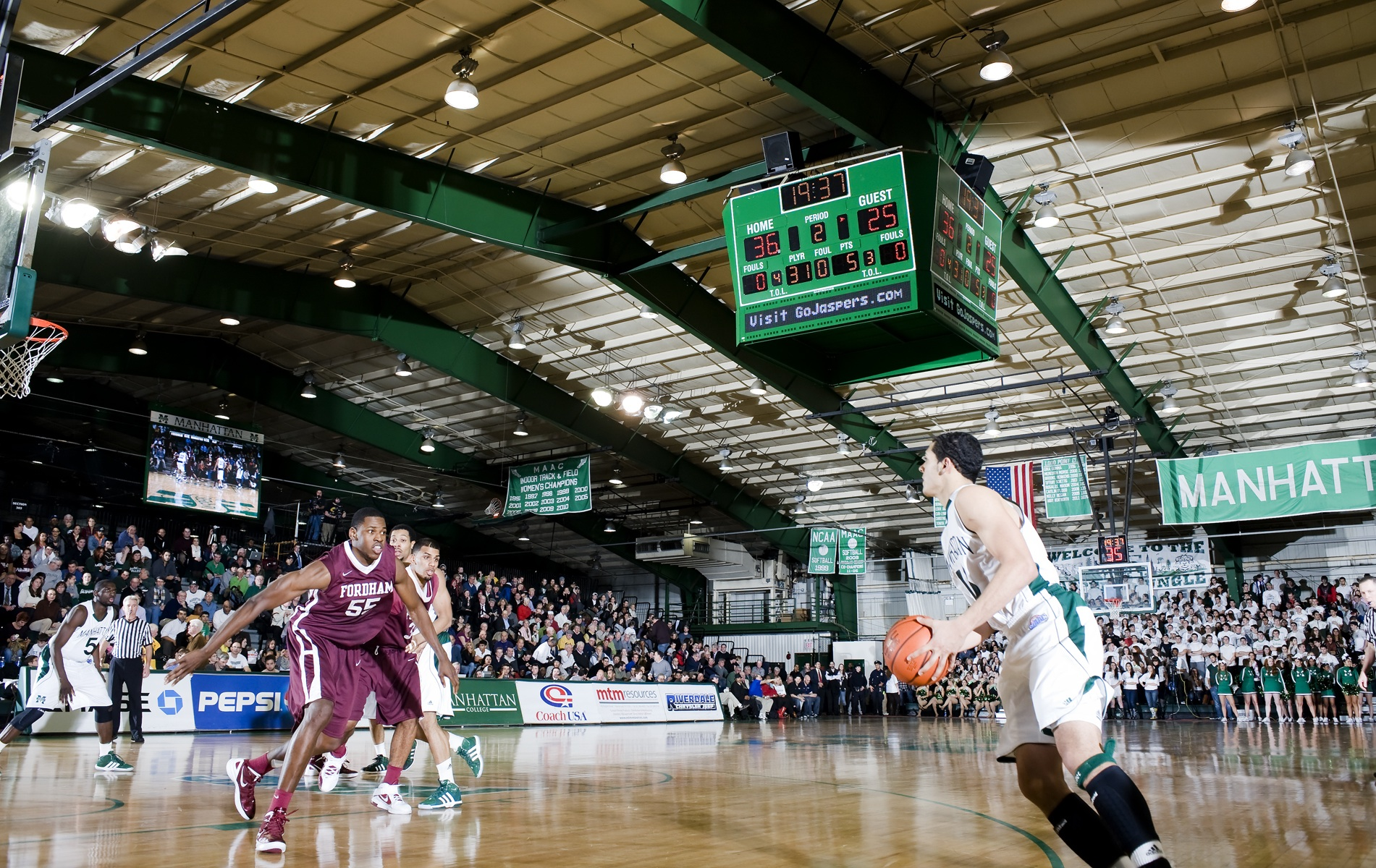 File:Manhattan College Basketball.jpg - Wikimedia Commons