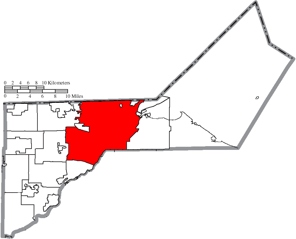 File Map Of Lucas County Ohio Highlighting Toledo City Png