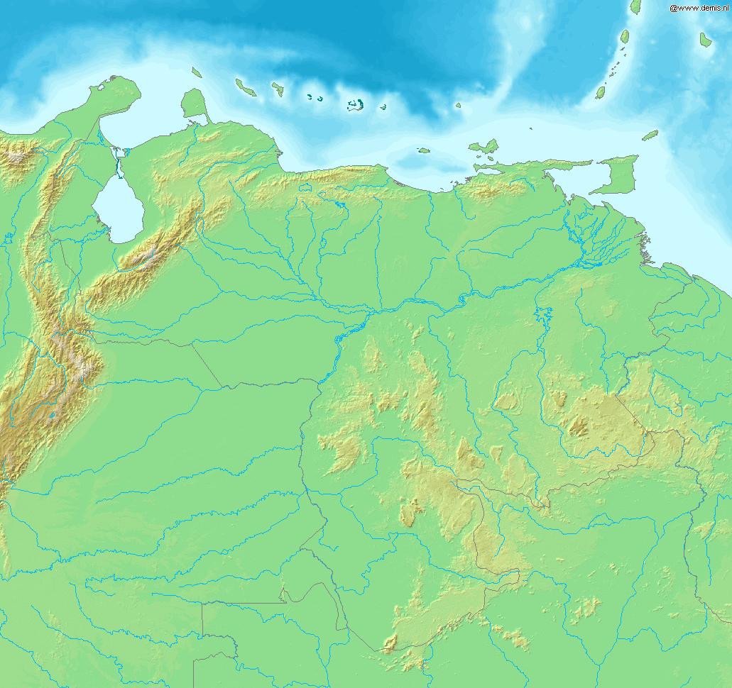 Geografia Wenezueli Wikipedia Wolna Encyklopedia