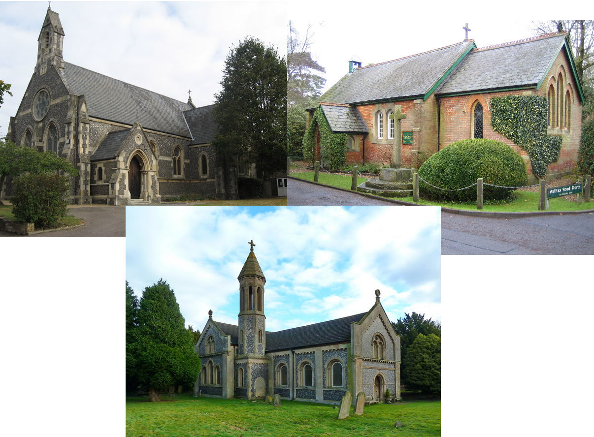 The churches of Mill End, Heronsgate and West Hyde