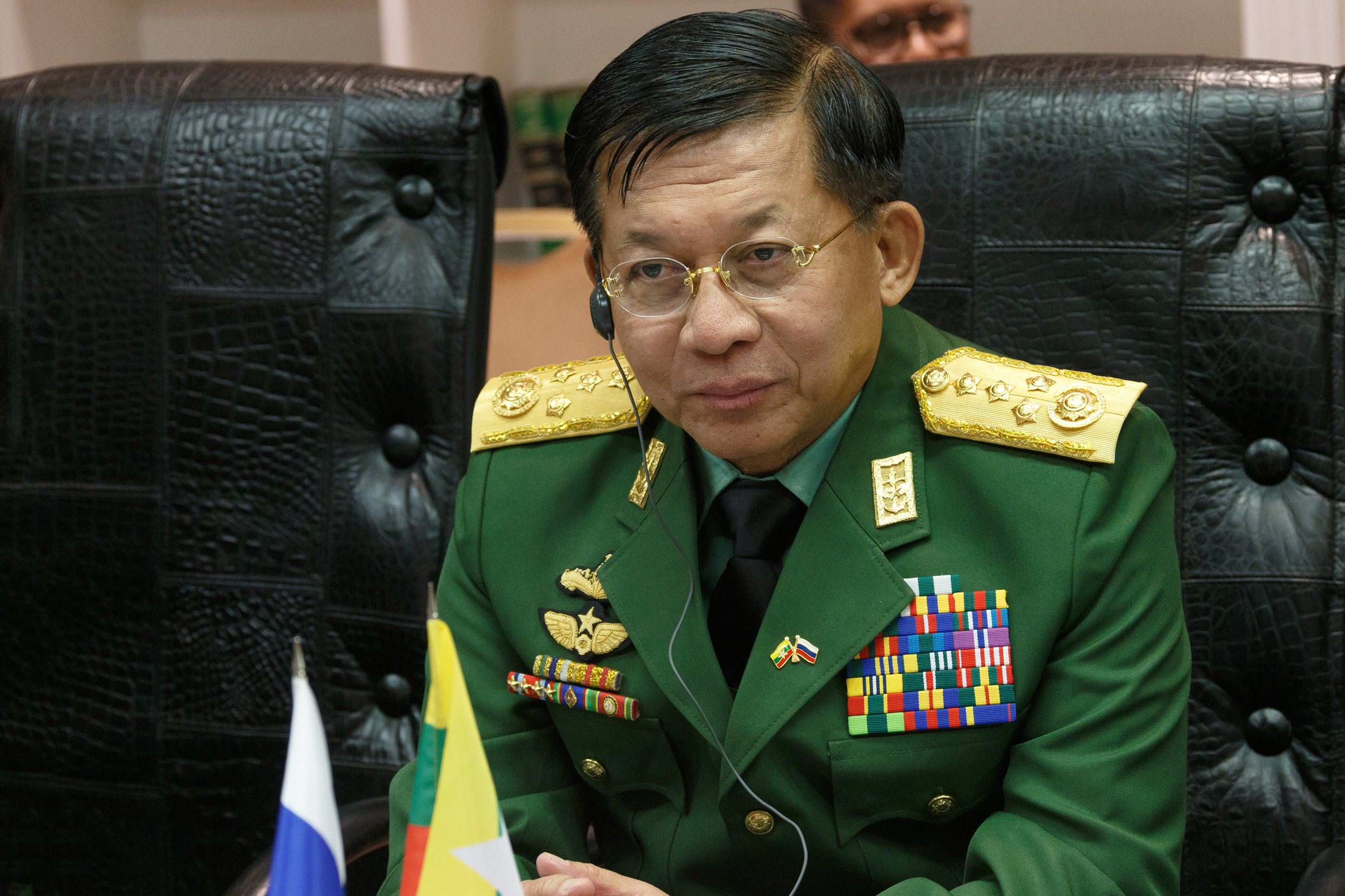 File:Min Aung Hlaing in April 2019.jpg - Simple English Wikipedia, the free  encyclopedia