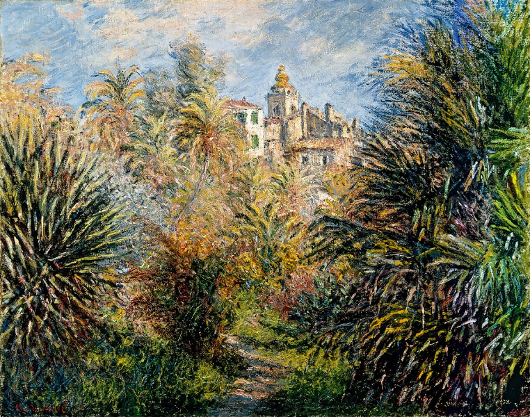 Moreno garden (Bordighera), Claude Monet