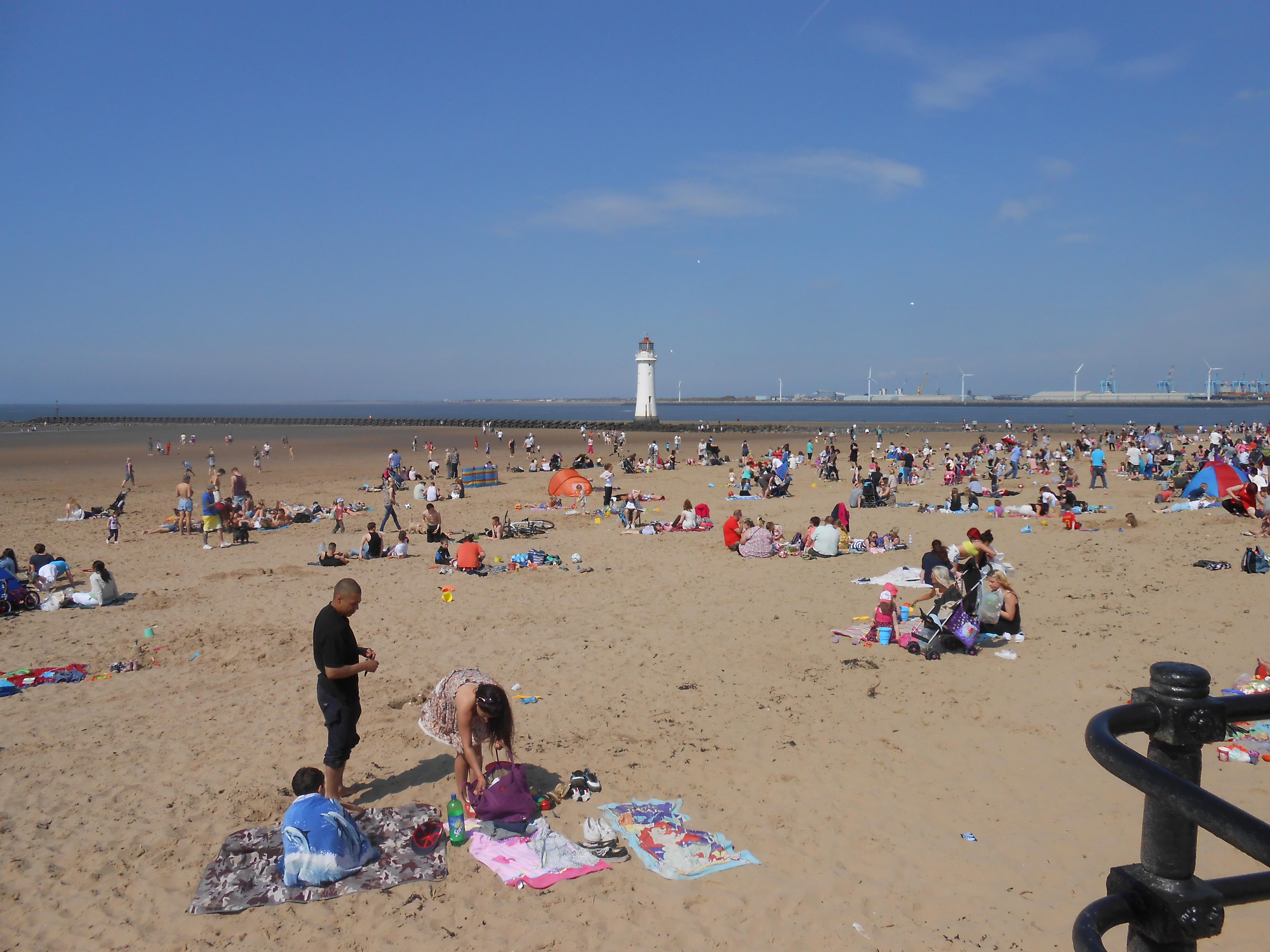 New Brighton Beach Uk Postcodenew Look Beach Bag Uk