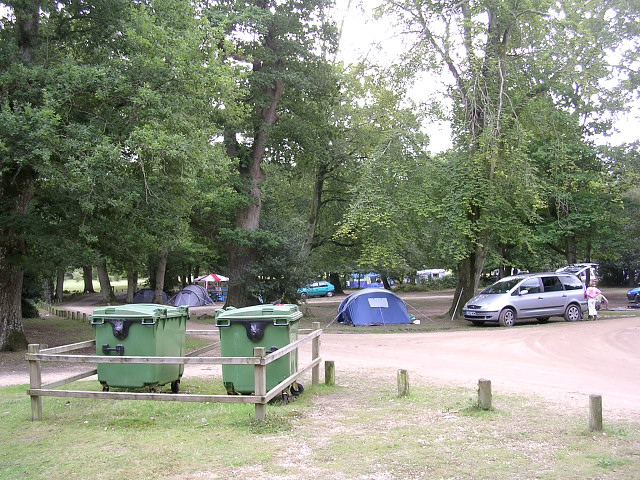 Northern end of Hollands Wood camp site, New Forest - geograph.org.uk - 43408