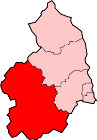 Former District in England