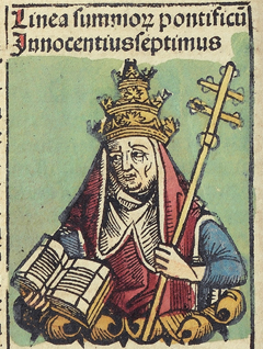 Nuremberg Chronicles f 235v 1 Innocentius VII.jpg
