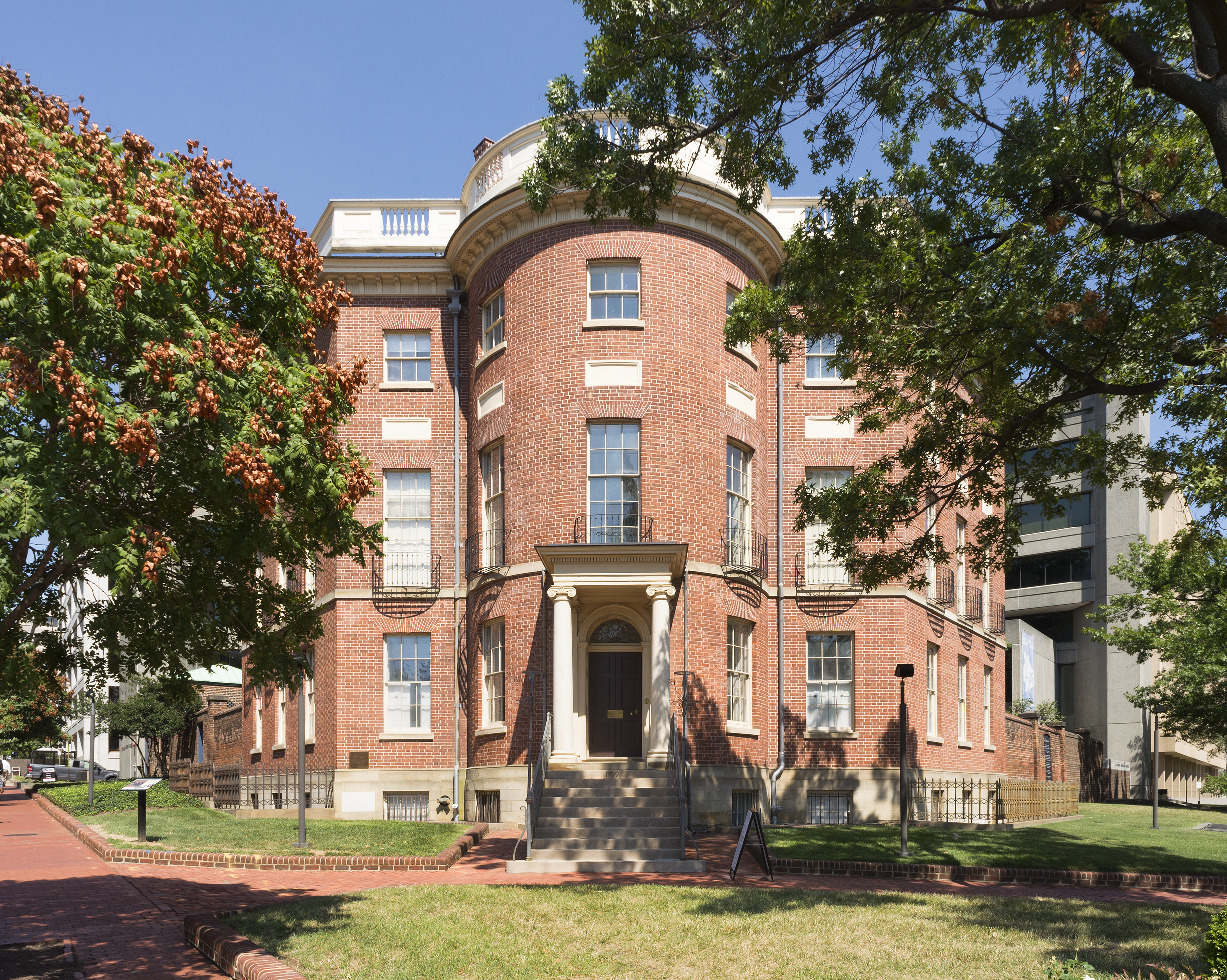 The Octagon house in the USA