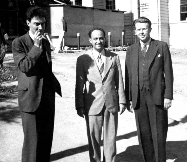 Oppenheimer, Fermi, Lawrence