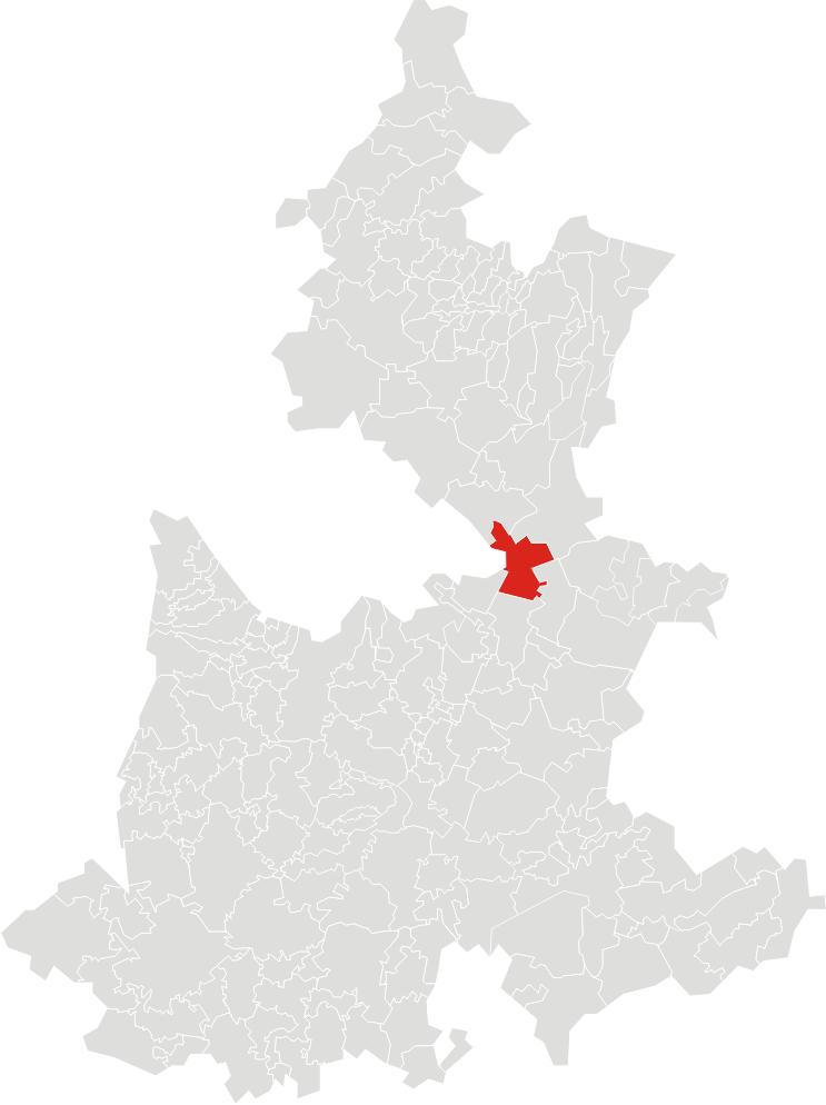 Localidades Del Municipio De Oriental Puebla Mexico
