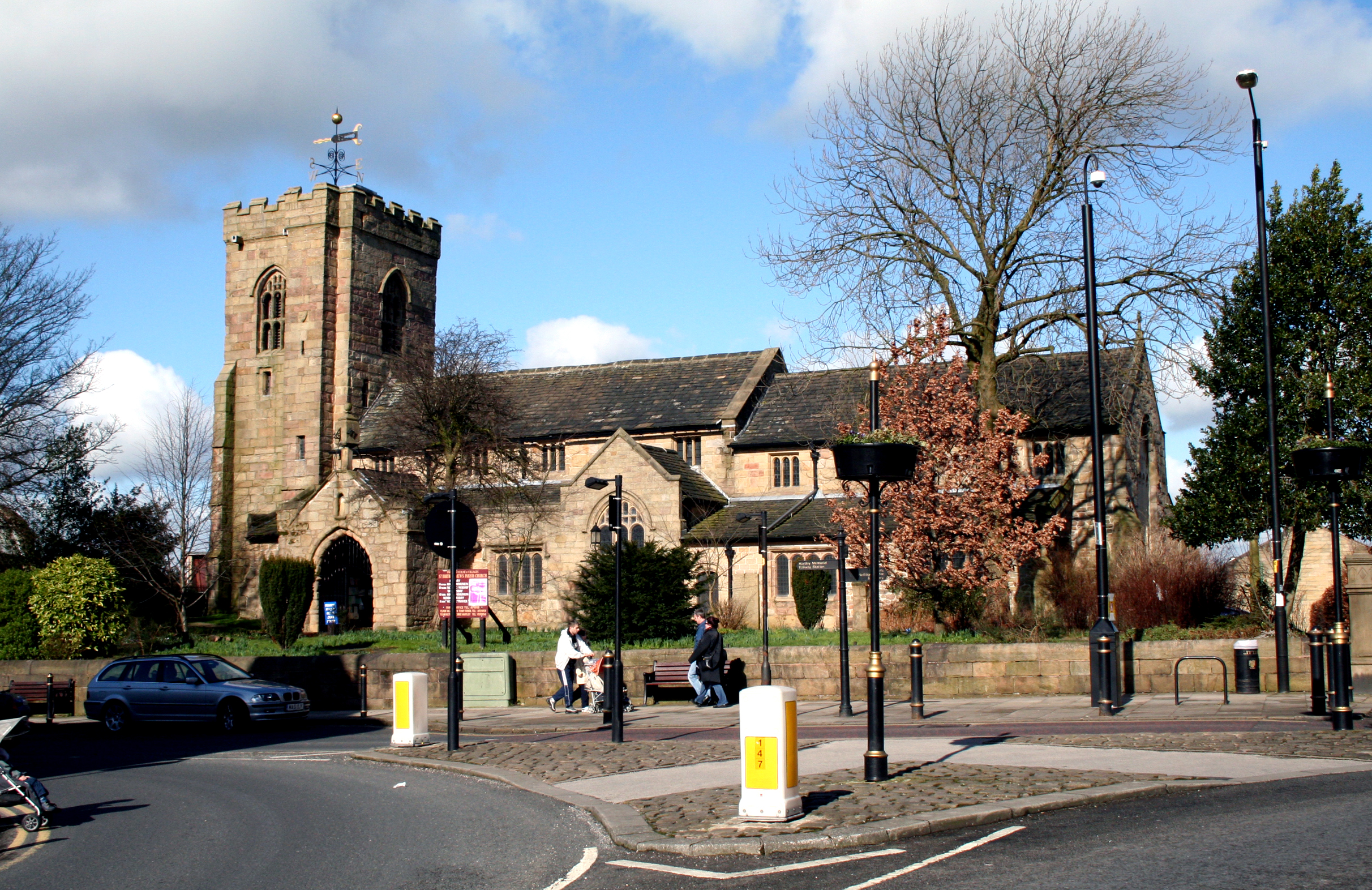 Parish Church of St. Bartholomew, Colne, Lancashire - geograph.org.uk - 1730205.jpg