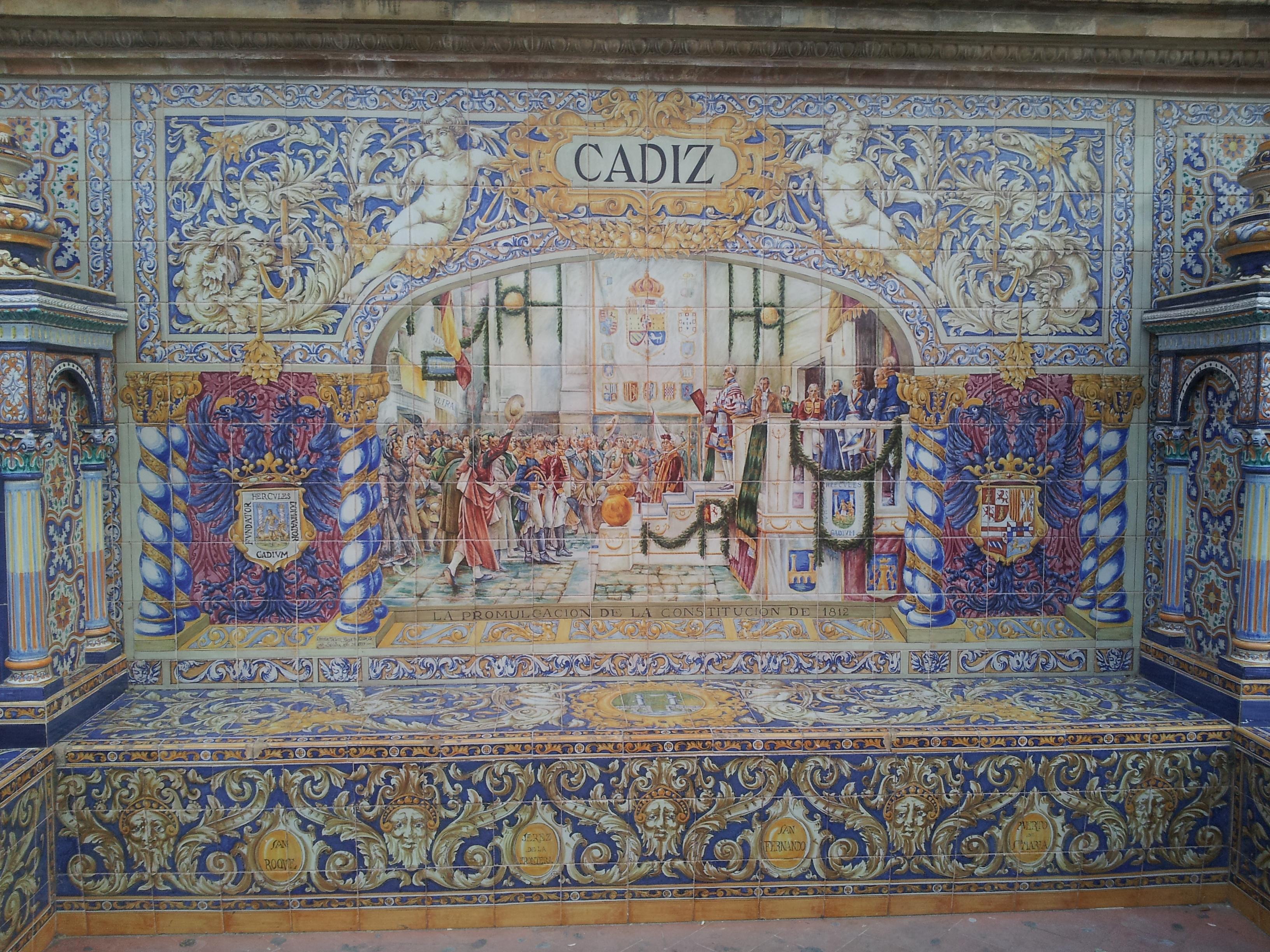 File pde sevilla azulejo c wikimedia commons for Azulejos cadiz