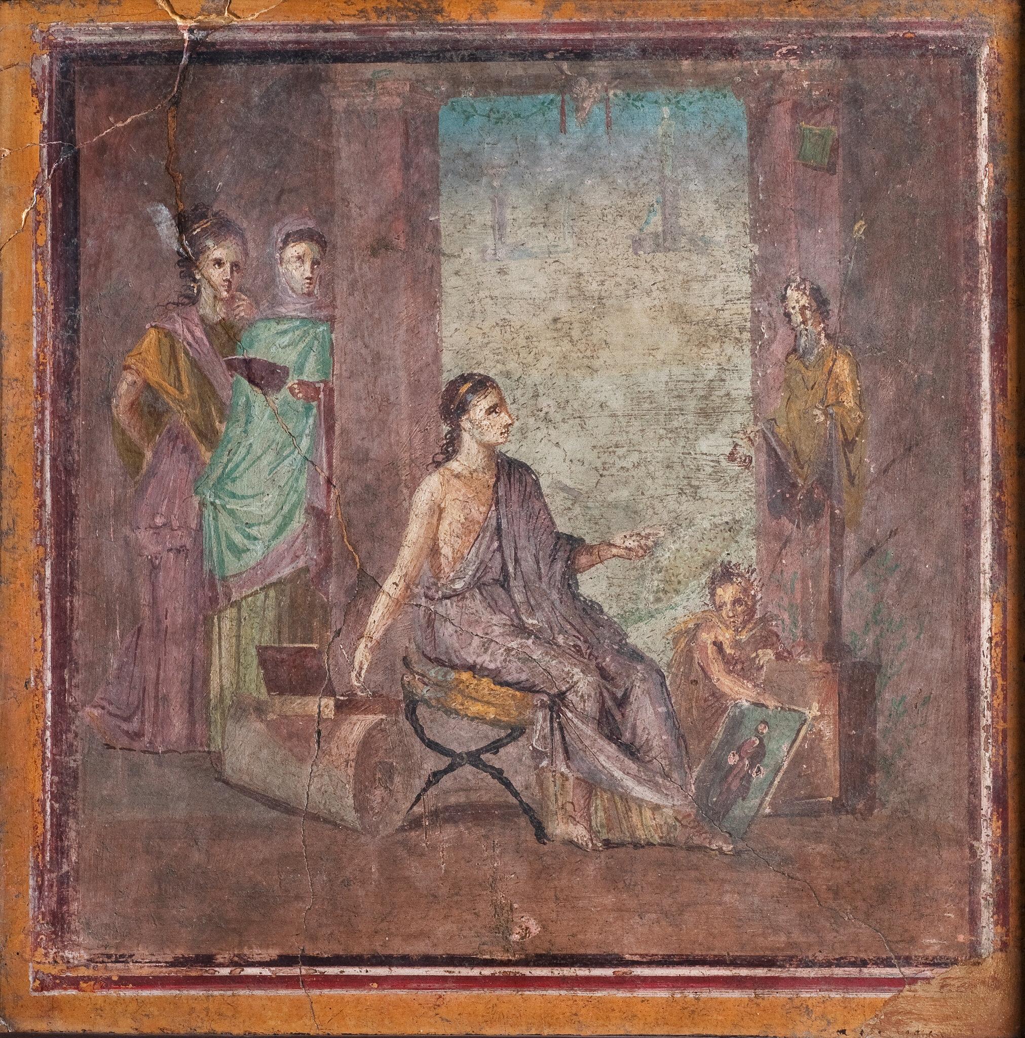 Roman Art Paintings