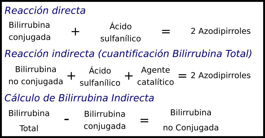 niveles bajos de bilirrubina total