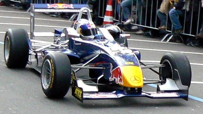 Red Bull Formula Three car