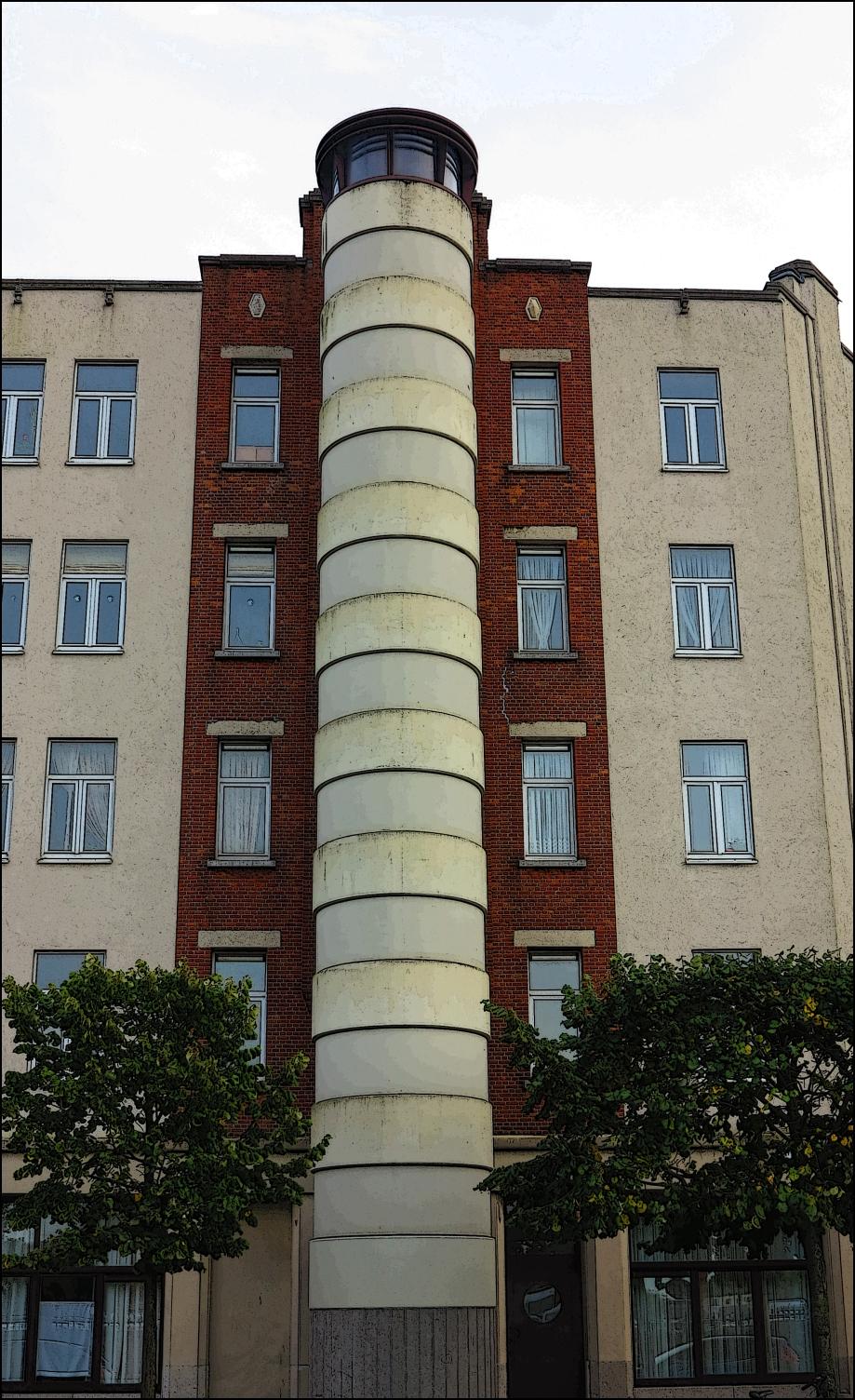 File Refurbished 1930 S Art Deco Apartment Building Panoramio Jpg