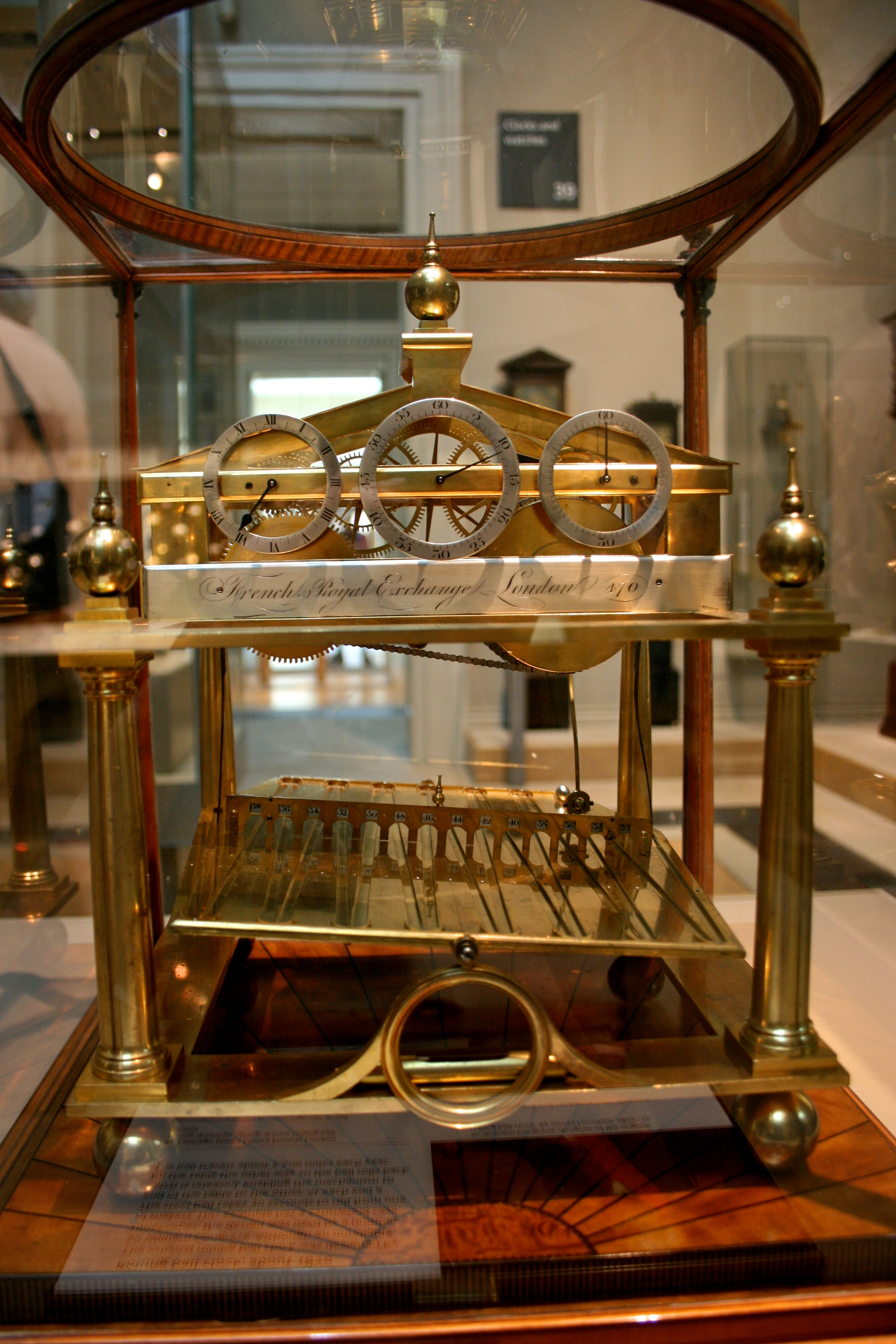 File Rolling Ball Clock In The British Museum Jpg