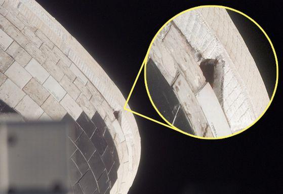 space shuttle atlantis tile damage - photo #36