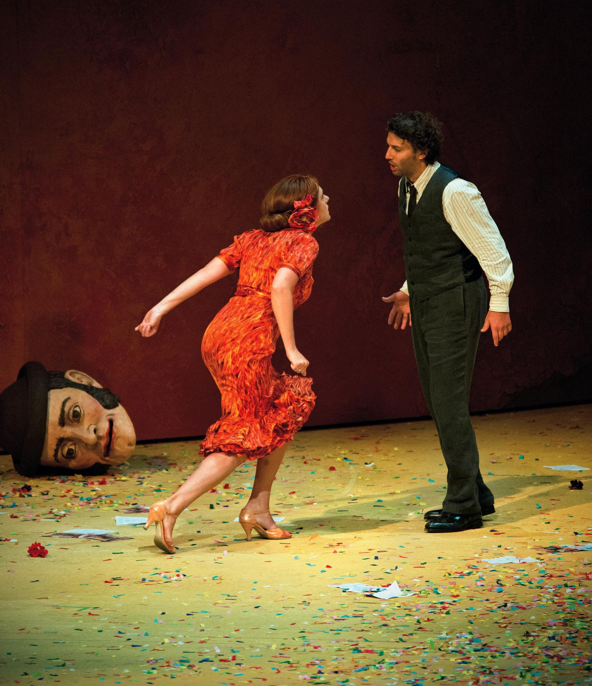Magdalena Kožená and Jonas Kaufmann at the Salzburg Festival 2012