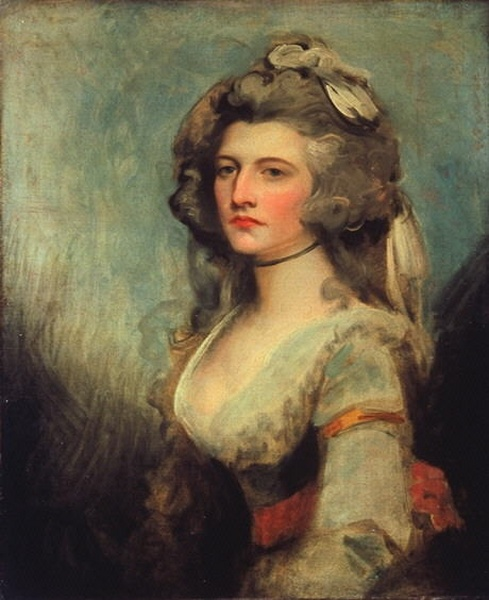 Sarah Curran by George Romney