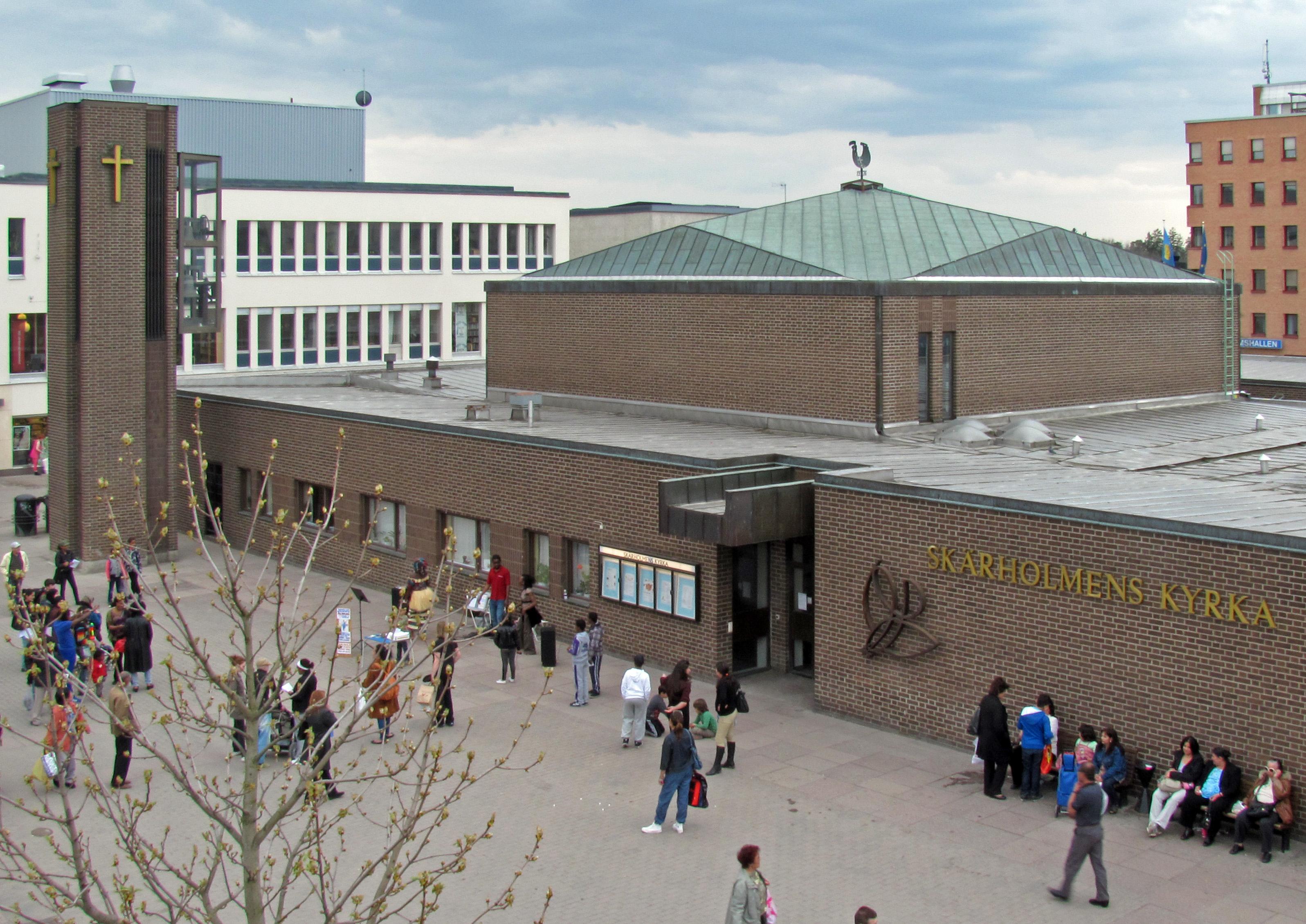 Bild av Skärholmens kyrka