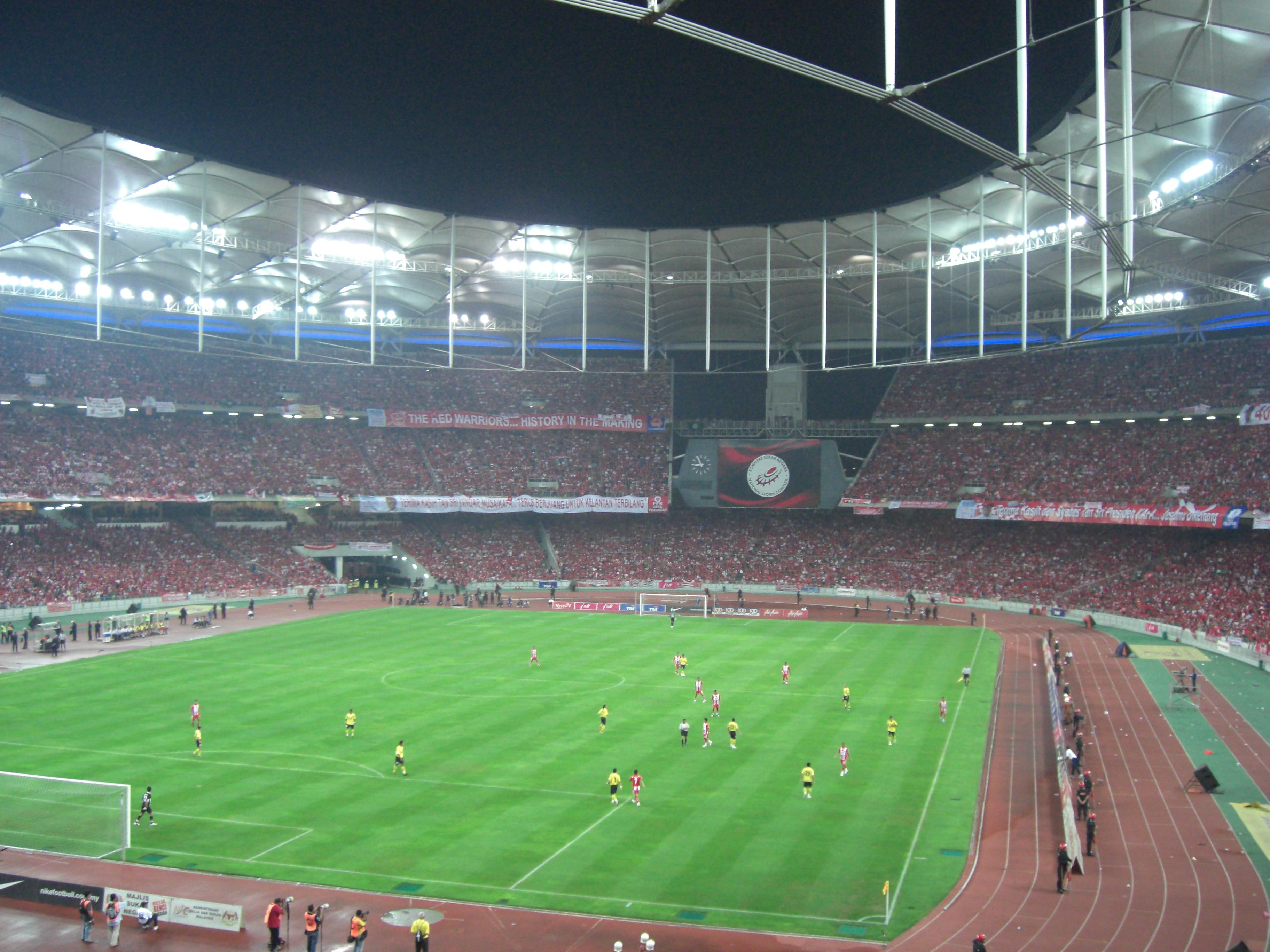 The National Stadium at Bukit Jalil