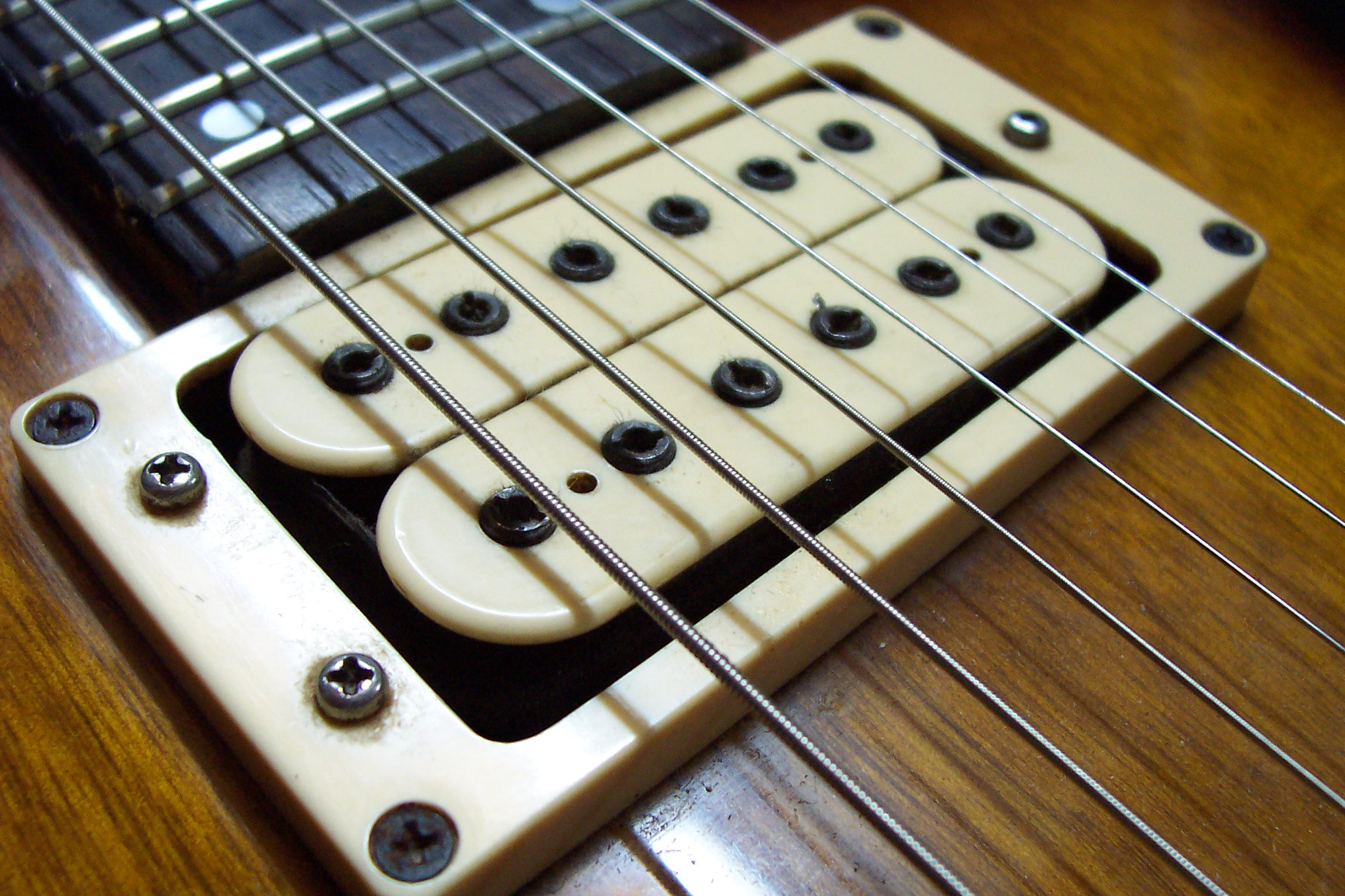 File:Super Humbucker V-2 pickup on an Ibanez Studio electric ...