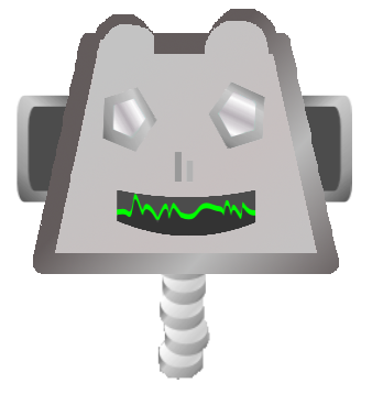 Tête de robot / Robot head.