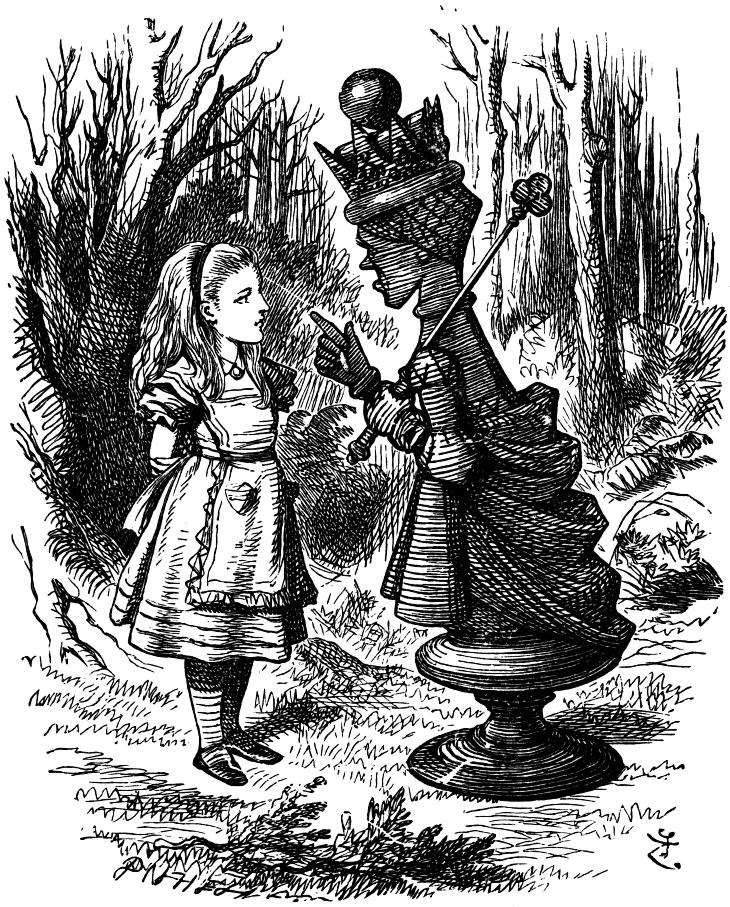 Red Queen (Through the Looking-Glass) - Wikipedia