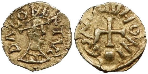 King Dagobert II of Austrasia (c. 650–679)