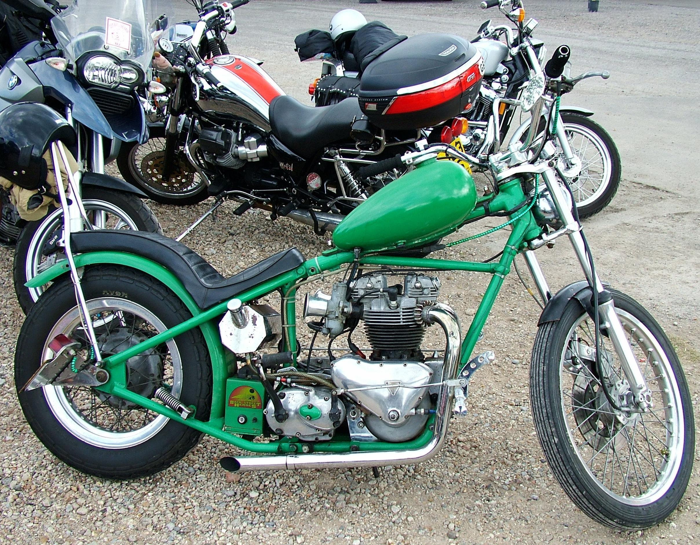 Custom Honda Chopper Motorcycles