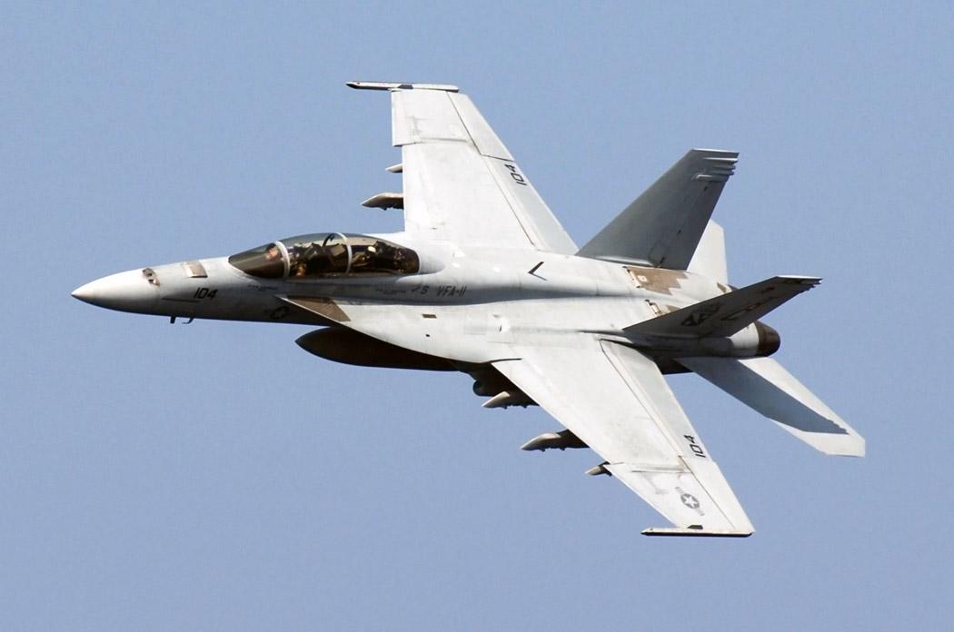 US Navy F/A 18 Super Hornet
